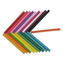Горячие Клеевые стержни, цветные клеевые палочки для горячего расплава, аксессуары для ремонта альбома, клейкие палочки, смешанные цвета, 12 шт., 11x100 мм, палочки