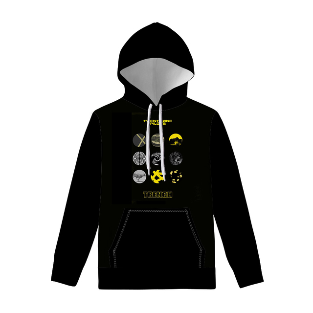 Twenty One Pilots Plus Size Hoodies