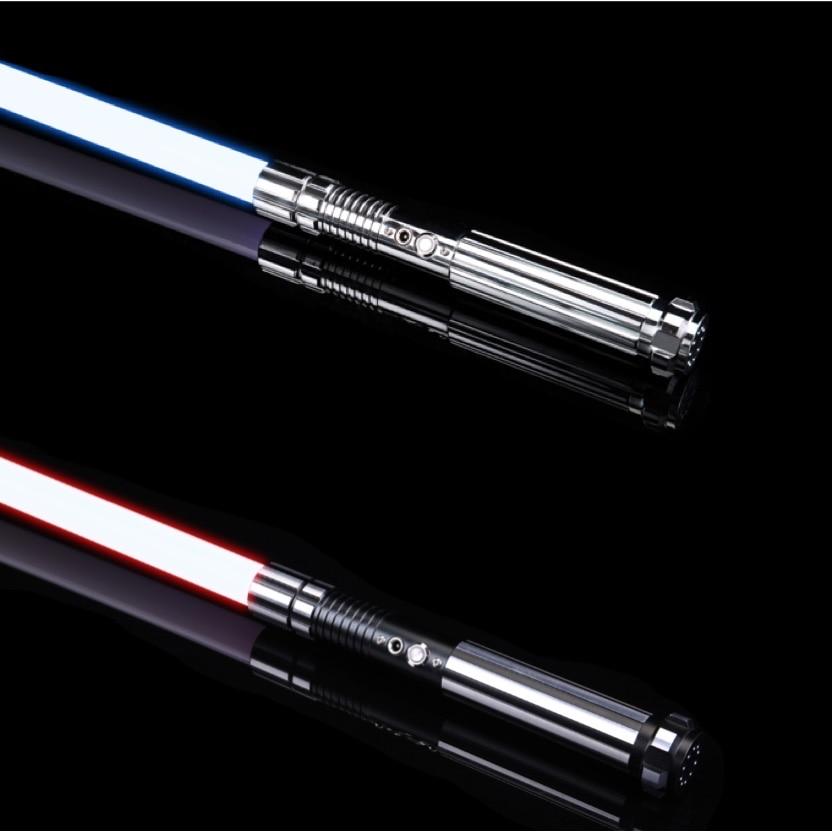 SaberFeast Dueling Lightsaber RGB 6 Soundfonts Laser Sword With 1 Inch Blade Metal Hilt FOC Swing Christmas Children Toys-015