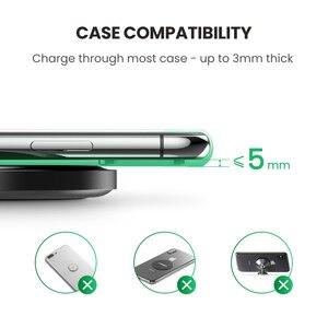 Image 4 - Ugreen אלחוטי מטען עבור iPhone 12X8 XS XR 10W Qi טעינה אלחוטי Pad QC 3.0 עבור Samsung s9 הערה 9 מהיר אלחוטי מטען