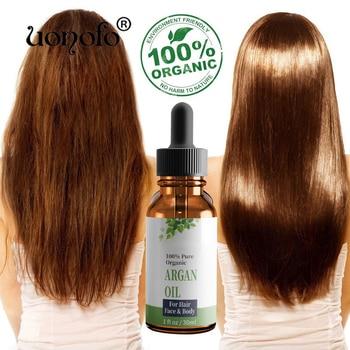 UONOFO 100% Natural Organic Morocco Argan Oil Hair Care Scalp Essential Oil For Repairing Dry Damage Hair Repair Hair Care 1