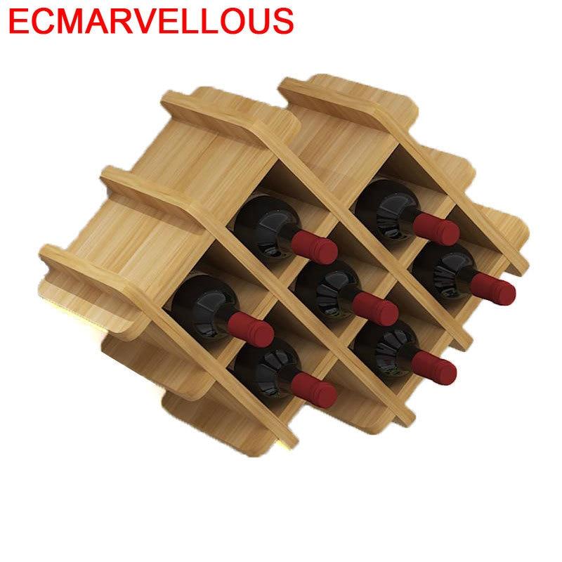 Desk Cristaleira Meube Kitchen Shelves Adega Vinho Meja Table Storage Dolabi Display Furniture Shelf Mueble Bar Wine Cabinet