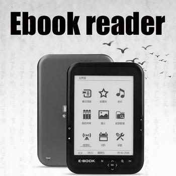 Bk-6006 Mini E-Ink Display 6 inch E-book Reader 800x600 Resolution E-reader 4G/8G/16G Support Multiple Languages Gifts for Child