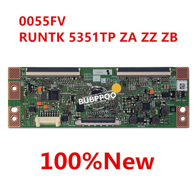 free shipping Original New t con 5351TP ZB 0055FV RUNTK5351TP ZZ RUNTK5351TP ZA Logic board good working