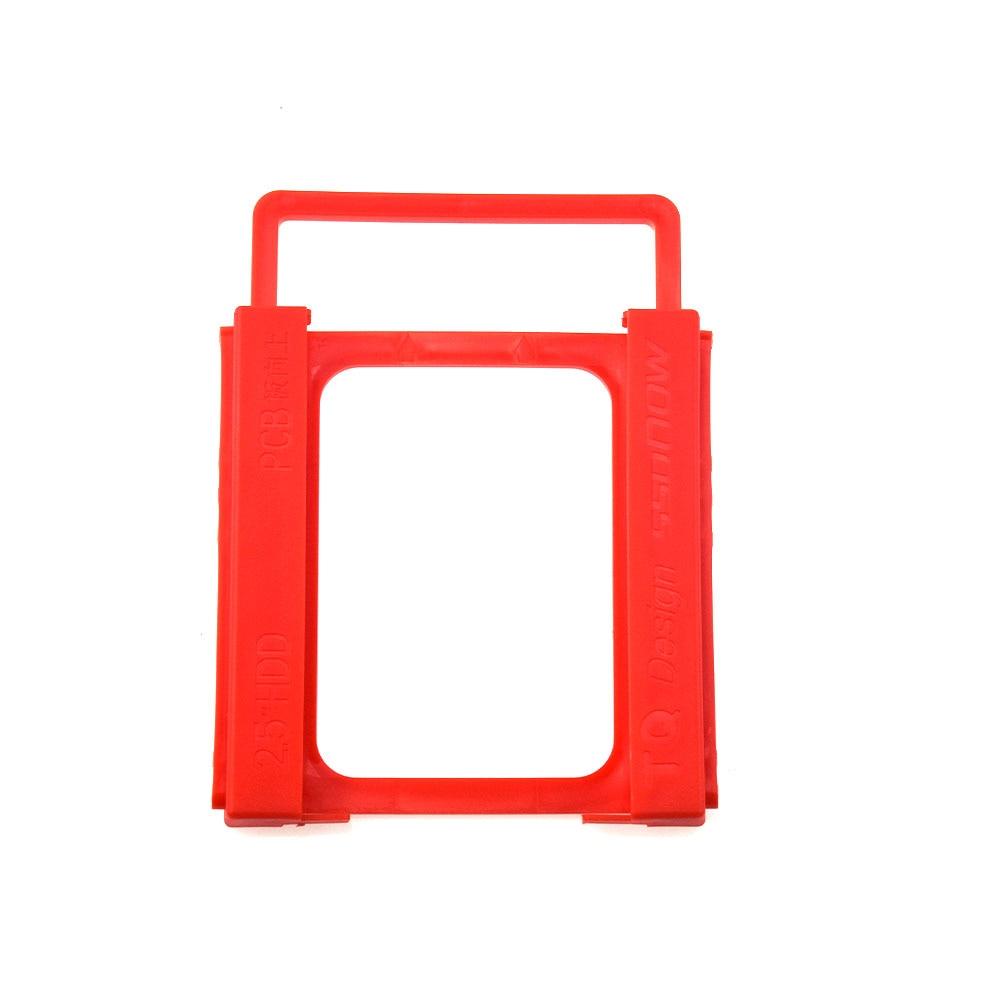 Plastic Universal 2.5-inch to 3.5-inch SSD Environmentally Friendly Plastic Adapter Mounting Bracket Desktop Hard Drive Bracket