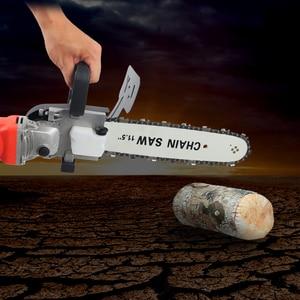 "Image 5 - 11.5 ""Chainsawเปลี่ยน100 125 150มุมไฟฟ้าอุตสาหกรรมขัดดัดแปลงChainsaw Stand Converter DIYเครื่องมือ"