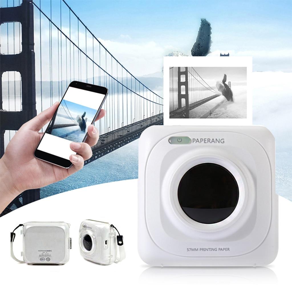 PAPERANG P1 Portable Bluetooth 4.0 Instant  Printer Photo Mini Thermal Photo Printer Phone Wireless Connection Bluetooth Printer