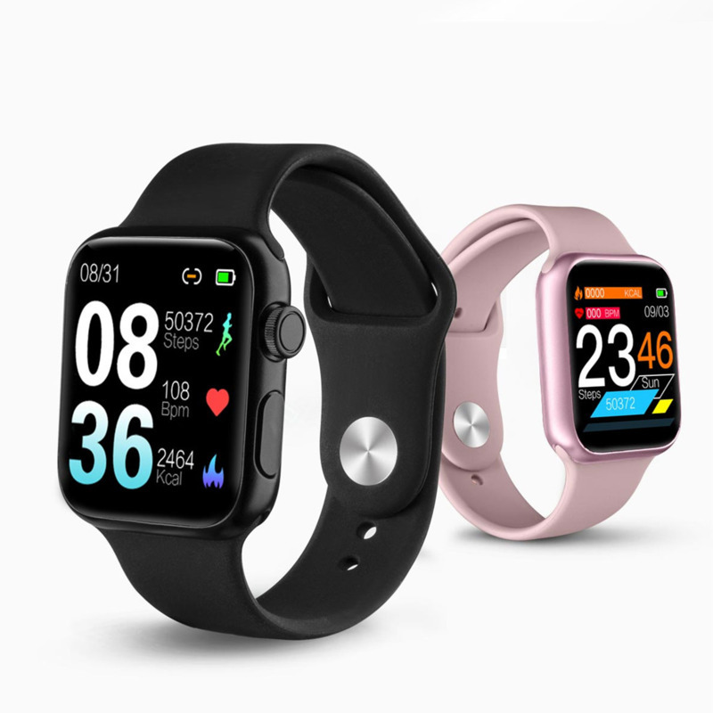 Smart Watch P20 IP68 Waterproof Heart Rate Blood Pressure Motion Tracking Band Smartwatch For Android Ios Wearable Devices