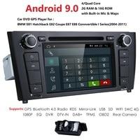 2G RAM Android 9.0 Car Radio Stereo Player For BMW E81 E82 E88 2004 2011 1 Series WIFI 4G Bluetooth RDS DSP AMP USB SWC DAB DVR
