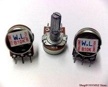 10 pces wl wh148 wh171 único potenciômetro da liga 1 k 5 k, 10 k 20 k 50 k a 100 k, 500 k a 1 m