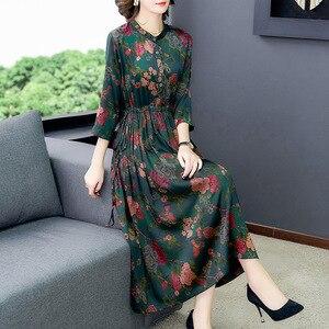 Silk dress summer 2020 blockbuster high-end mulberry silk dress brand silk dress S to 4XL