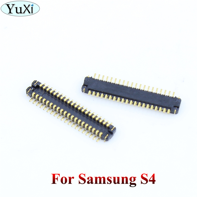 YuXi 2 pièces pour Samsung galaxy S2/S3/S4/S5/S6/S6 edge/Note 2 3 4 5 écran lcd connecteur FPC sur carte mère