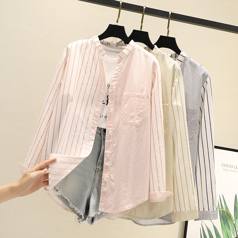 Купить полосатые женские блузки рубашки туники женские топы и 2020