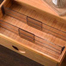 Separator-Divider Organizer Drawer Clapboard Closet-Storage Division-Board Adjustable
