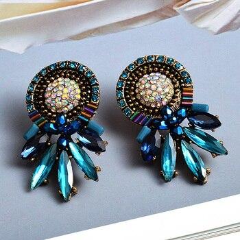 Colorful Crystal Earrings 3