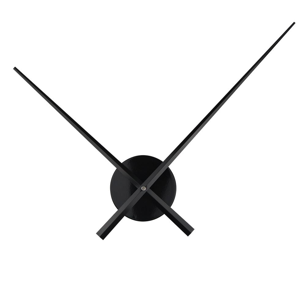 Новые короткие DIY большие часы иглы кварцевый механизм большой размер часовые стрелки аксессуары для 3D настенные часы Современный домашний...