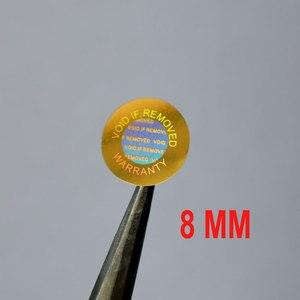 Image 2 - Hologramme de sécurité de 8mm pour réparation de téléphone, nul si supprimé, garantie pour un usage unique