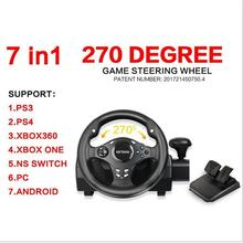 270 Degree Racing Steering Wheel Controller Driving  Car clutch For PS4/PS3/Xbox  one/Xbox 360/Nintendo Switch/PC/Android цена и фото