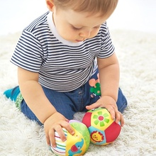 Baby Toys 0-12 Months Animal Ball Soft Plush Baby Mobile Toys with Sound Baby Rattle Body Building Ball Newborn Educational Toys
