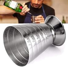 Шкала 75 мл барменный мерный стакан унция Бар Джиггер бармен Миксер для напитков ликер мерный стакан инструмент бармена