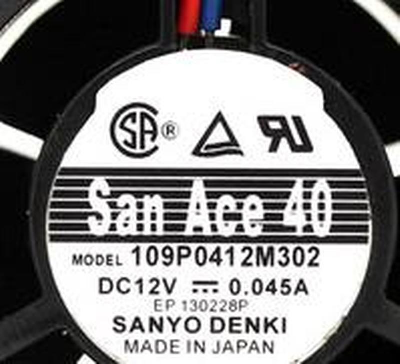 Оригинал 109P0412M302 4028 12В 40*40*28 мм 0.045A 3 провода ультра тихий вентилятор охлаждения сервера