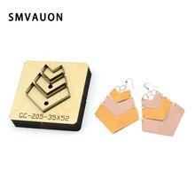 Cutting-Mold Earrings Rule-Cutter Blade Punch-Polygon Wood Dies Steel Japan Cutout SMVAUON