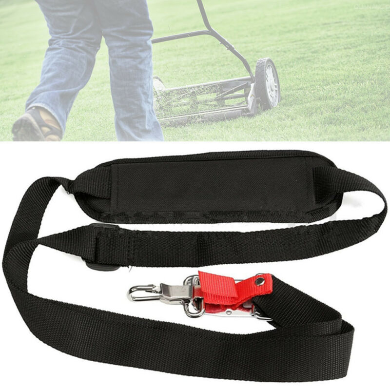 1pcs Universal Single Shoulder Padded Harness Strap For Brush Cutter Trimmer Strimmer Garden Cutting Strap Accessories in Tool Parts from Tools