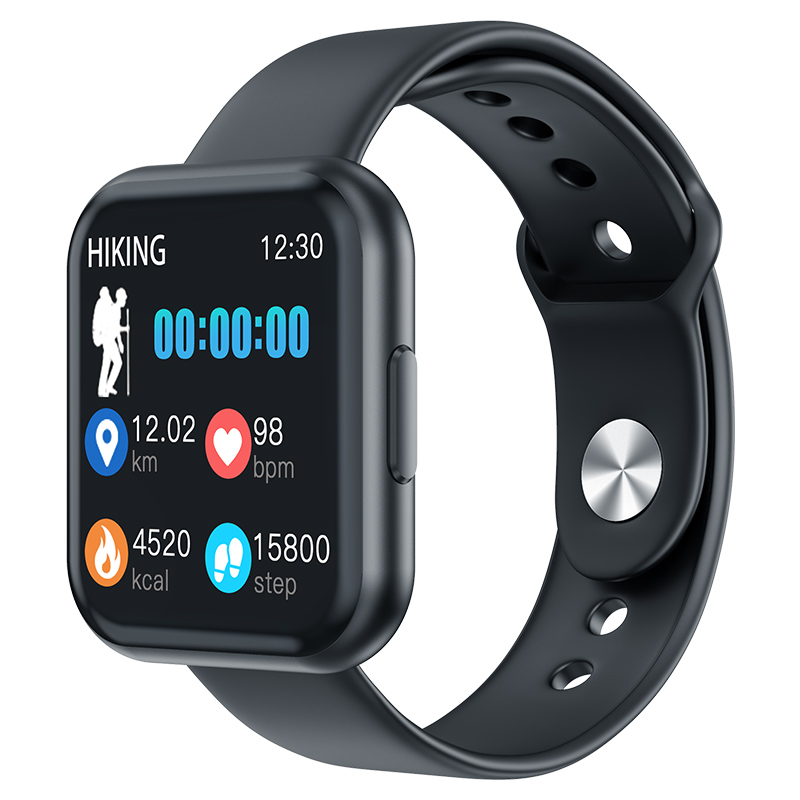 MKS6 <font><b>Smartwatch</b></font> IP67 Waterproof Wearable Device Bluetooth Pedometer Heart Rate Monitor Color Display Smart Watch For Android/IOS image