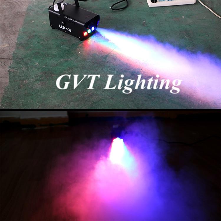 Led vermelho verde azul colorido spray gerador