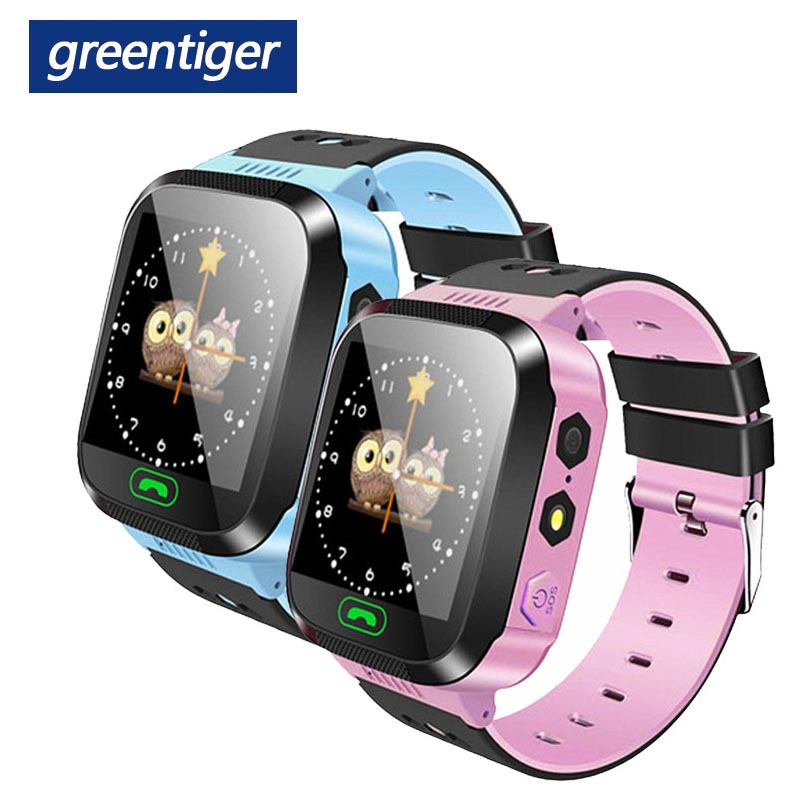 Greentiger Q02 Children Smart Watch Camera Lighting Touch Screen SOS Call  LBS Tracking Location Finder Kids Baby Smart Watch 2007 bmw x5 spoiler