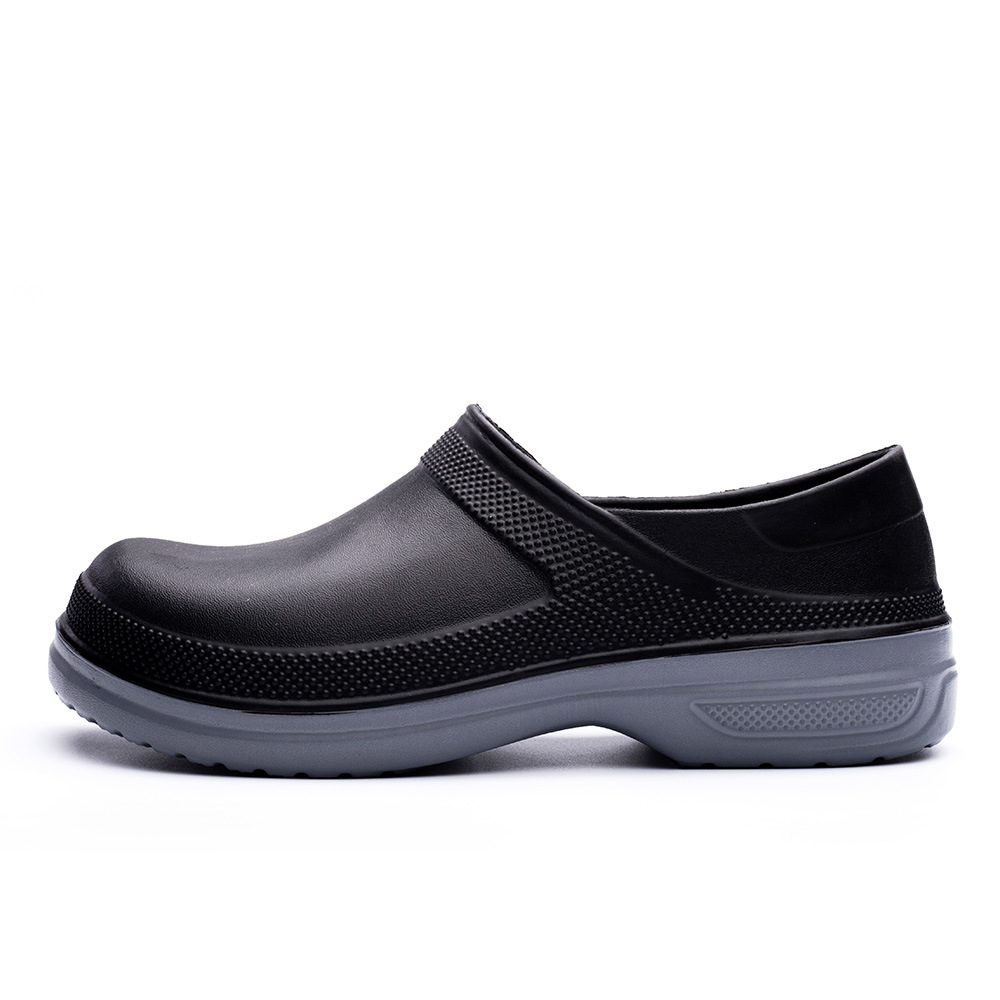 EVA Hotel Kitchen Clogs Non-slip Waterproof Oil-proof Work Shoes Breathable Resistant Kitchen Cook Chef Shoes Plus Size 39-49