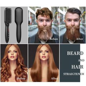 Image 2 - צעד אחד שיער מייבש & מעניק נפח אוויר חם מברשת אוויר חם קרלינג/חשמלי זקן שיער מברשת מחליק סבך מסרק ברזל שיער טיפול