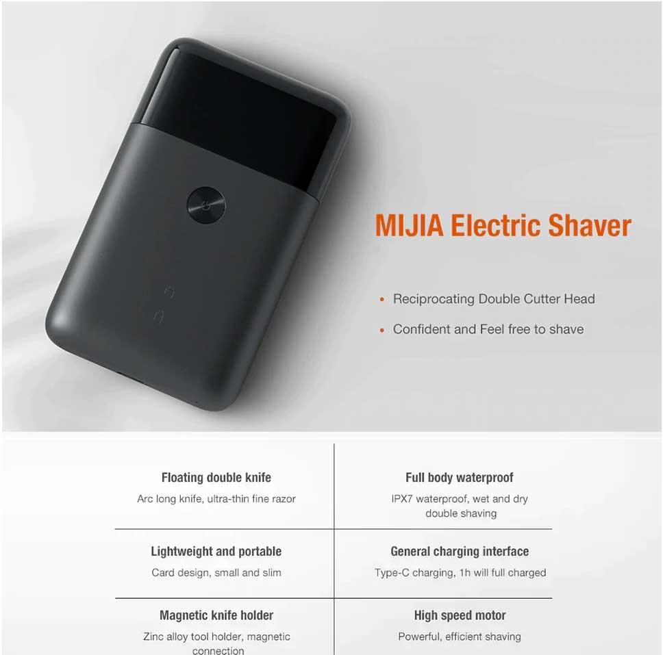 usb recarregável lavável aparador de barba