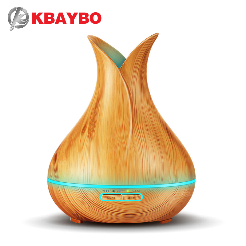 KBAYBO 150ml Mini Humidifier Electric Aroma Essential Oil Diffuser With LED Night Light Ultrasonic Humidfiers For Home Office