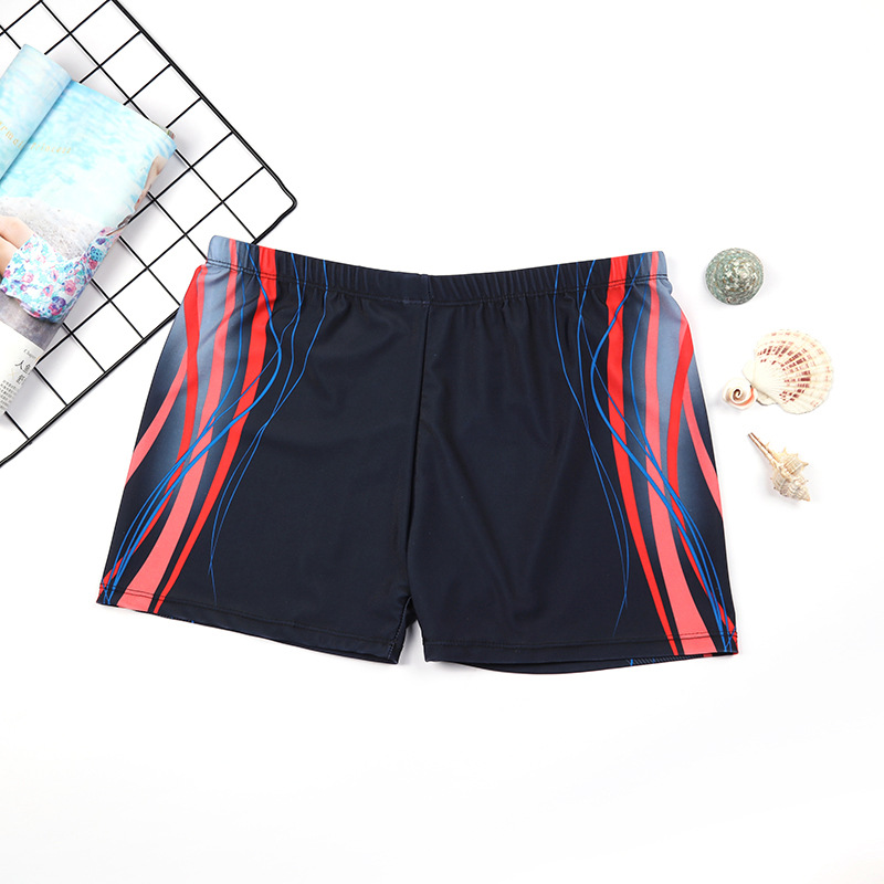 Large Size Swimming Trunks Men's Plus-sized Boxer MEN'S Swimming Trunks Extra-large No. Lard-bucket Swimming Trunks