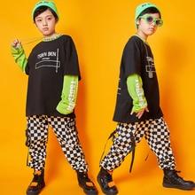 Новые детские костюмы для джазовых танцев, детская одежда для современных танцев в стиле хип-хоп куртка с длинными рукавами и капюшоном и штаны рост 110 до 180 см, SL1948