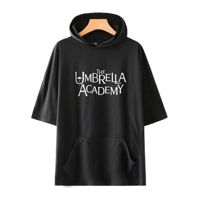 THE UMBRELLA ACADEMY SHORT SLEEVE HOODIE (10 VARIAN)
