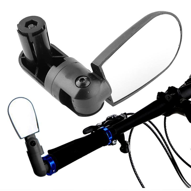 Einstellbar Fahrrad Rückspiegel Universal 360 Drehen Radfahren Lenker Weitwinkel Rückspiegel Fahrrad Zubehör