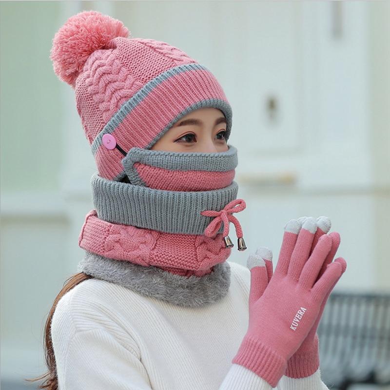 粉色加手套