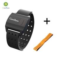 CooSpo Heart Rate Monitor Armband Optical Heart Rate Sensor Bluetooth 4.0 ANT+ For Garmin Wahoo Bike Computer