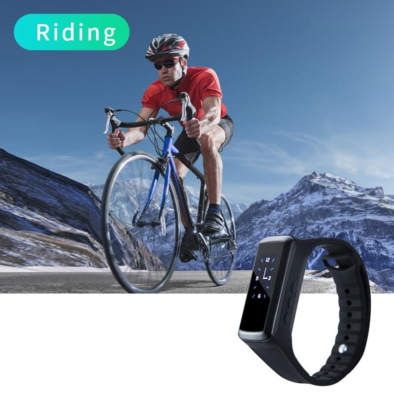 HD Mini 1080p camera Bluetooth Outdoor Sports cam Photography Bracelet Wristband Secret Video Recording button Watch DV Camera
