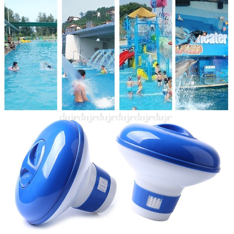 Swimming Pool Chemical Floater Chlorine Bromine Tablets Floating Dispenser Applicator Spa Hot Tub Supplies