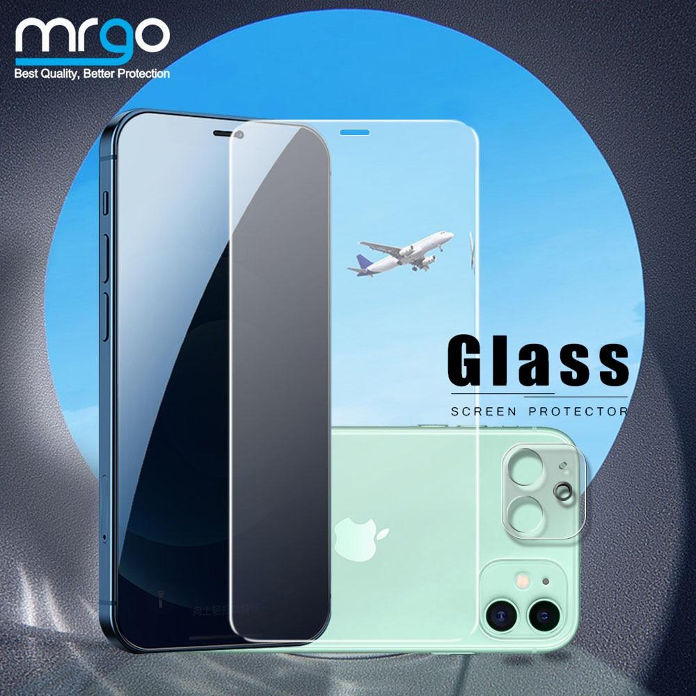 Закаленное стекло для iPhone 11 Pro Max 12, защита экрана камеры для Apple iPhone 11, Защитное стекло для iPhone SE 2020 X XR XS