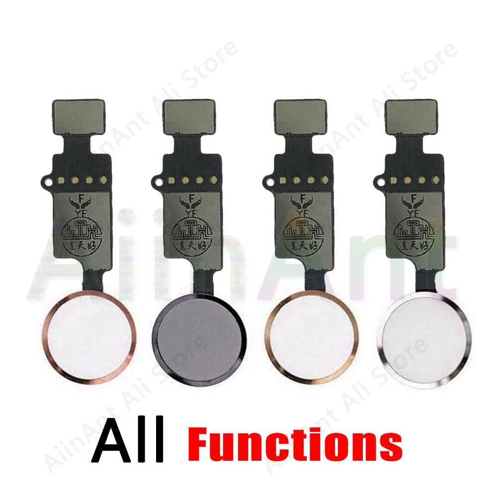 Final Version Edition Universal Function Return Key For IPhone 7 Plus 8 Plus Home Button Flex Cable Phone Repair Parts