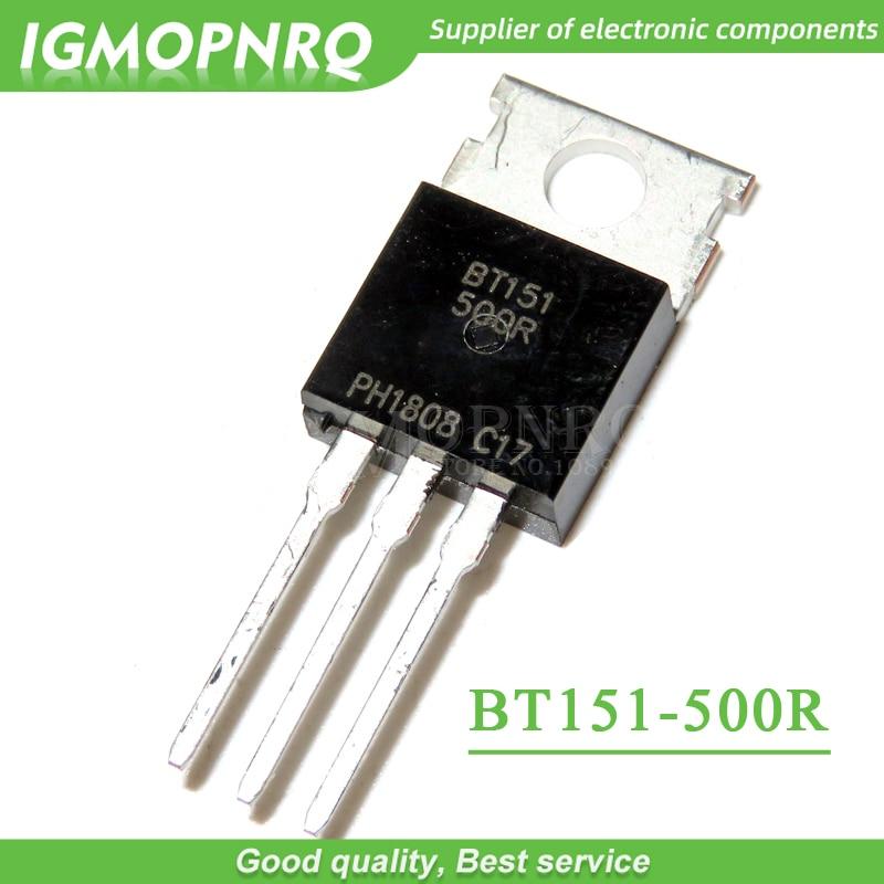 100PCS BT151-500R BT151 TO-220 Thyristors 500V 12A NEW