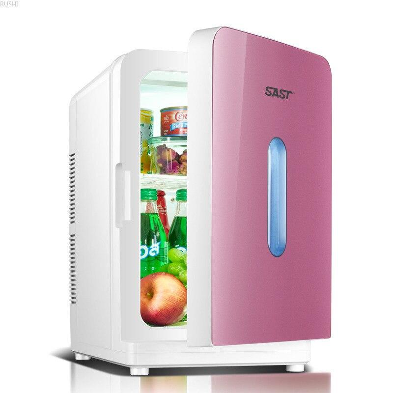 20L 220 V   Refrigerators   Single Door  Car Fridge   Mini Fridge   Portable  Cool  Mini Refrigerator