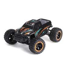 HBX 16889 RC araba 1:16 2.4Ghz 4WD radyo kontrol araba 45km/saat fırçasız Motor ile LED ışık elektrikli Off-Road araba RTR oyuncaklar
