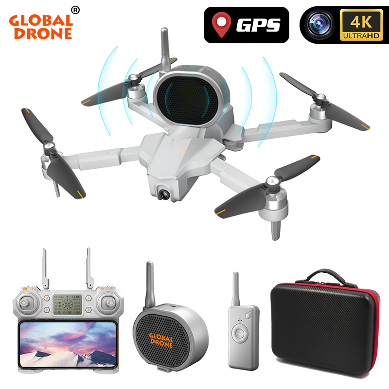 GPS Drone 4K Quadrocopter Follow Me Wifi FPV Long Time Fly Profissional Drones with Camera HD RC Dron VS SG906 K1 E520 F11 PRO 2