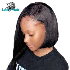 Image 3 - Luasy ברזילאי שיער Weave חבילות ישר 100% רמי הארכת שיער טבעי צבע 30 32 34 36 38 40 אינץ שיער טבעי חבילות