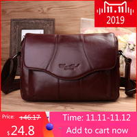 CHEER SOUL Genuine Leather Women Bag Ladies Shoulder Crossbody Bag Luxury Handbags Messenger Bag Fashion Female Large Tote Purse